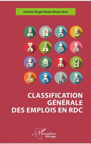 Couverture Classification générale des emplois en RDC