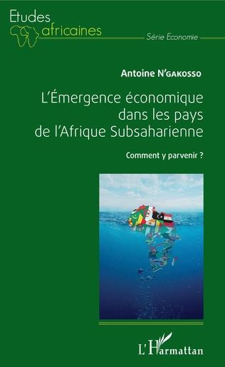 Couverture L'Emergence économique dans les pays de l'Afrique Subsaharienne