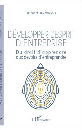Couverture Développer l'esprit d'entreprise