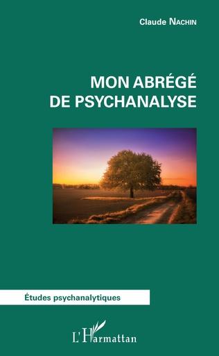 Couverture Mon abrégé de psychanalyse