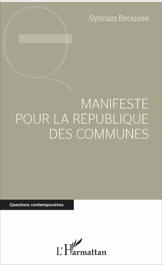 Couverture Manifeste pour la République des communes