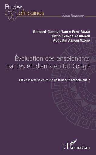 Couverture Evaluation des enseignants par les étudiants en RD Congo