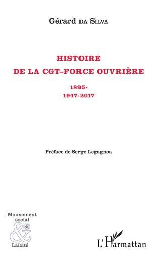Couverture Histoire de la CGT-Force ouvrière
