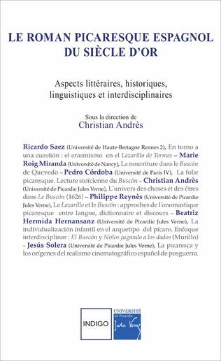 Couverture Le roman picaresque espagnol du Siècle d'Or