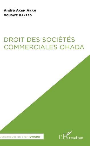 Couverture Droit des sociétés commerciales OHADA