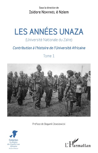 Couverture Les années unaza (Université nationale du Zaïre) (Tome 1)