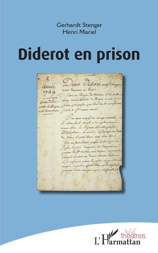 Couverture Diderot en prison