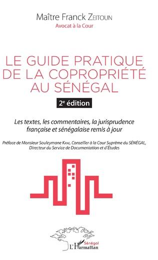 Couverture Le guide pratique de la copropriété au Sénégal 2è édition