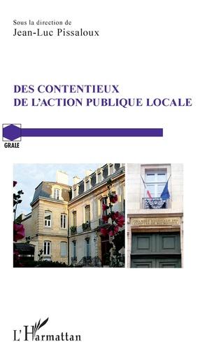 Couverture Des contentieux de l'action publique locale