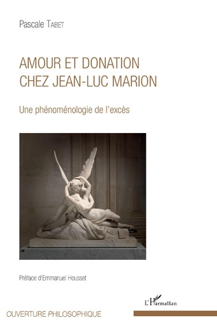 Couverture Amour et donation chez Jean-Luc Marion