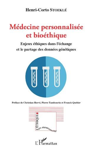 Couverture Médecine personnalisée et bioéthique