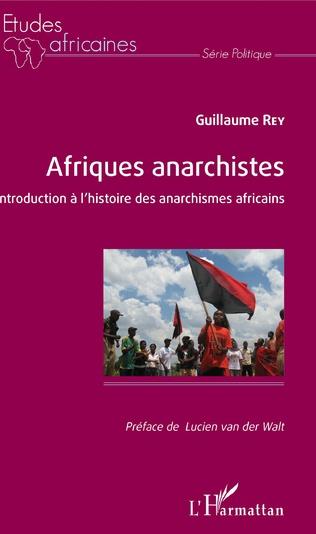 Couverture Afriques anarchistes