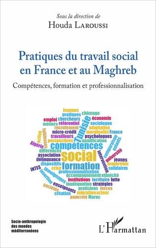 Couverture Pratiques du travail social en France et au Maghreb