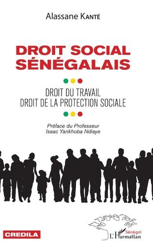 Couverture Droit social sénégalais