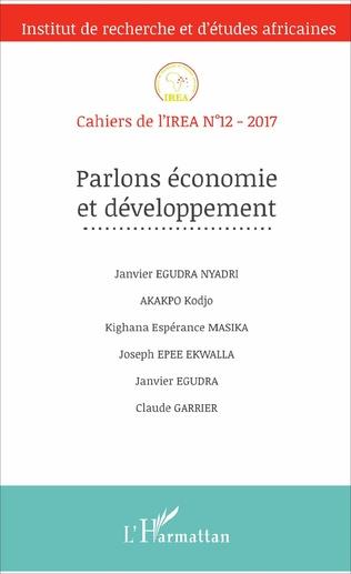 Couverture Parlons économie et développement