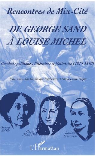 Couverture De George Sand à Louise Michel