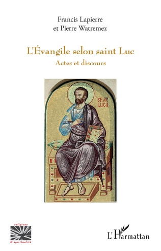 Couverture L'Évangile selon saint Luc