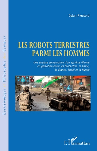 Couverture Robots terrestres parmi les hommes