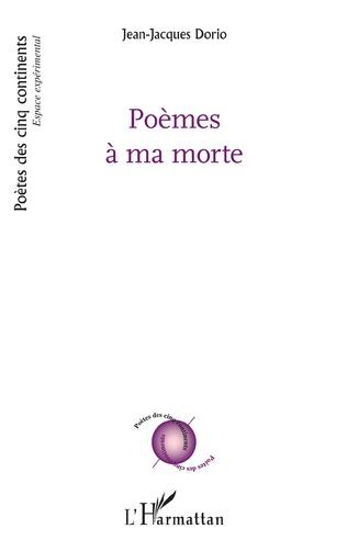 Couverture Poèmes à ma morte