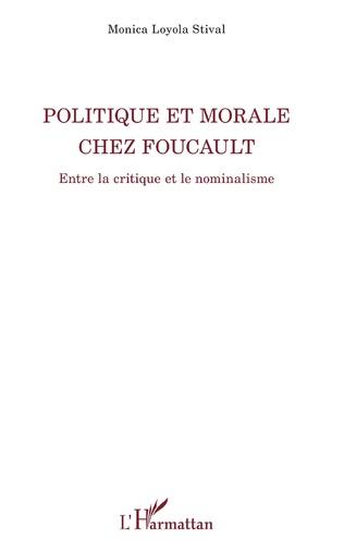 Couverture Politique et morale chez Foucault