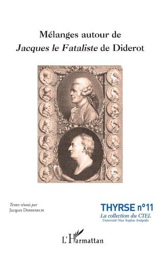 Couverture Mélanges autour de Jacques le Fataliste de Diderot