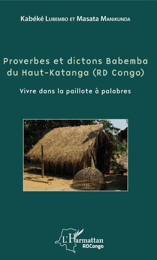 Couverture Proverbes et dictons Babemba du Haut-Katanga (RD Congo)