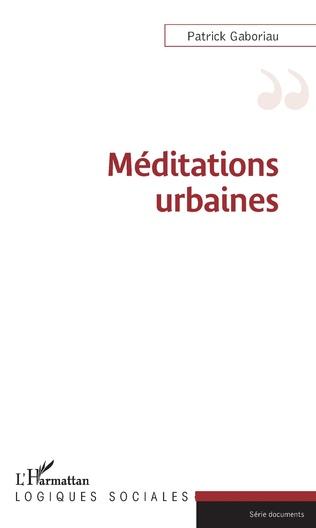 Couverture Méditations urbaines