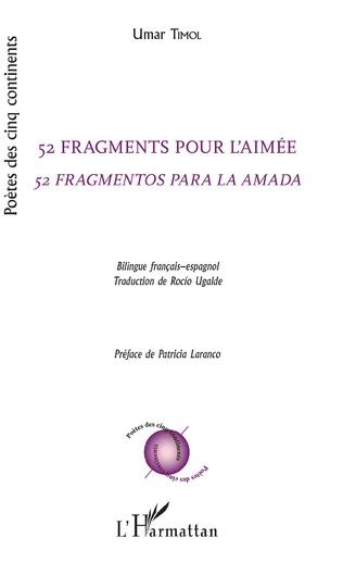 Couverture 52 fragments pour l'aimée