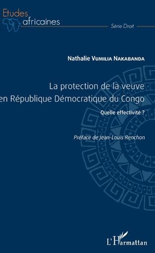 Couverture La protection de la veuve en République Démocratique du Congo