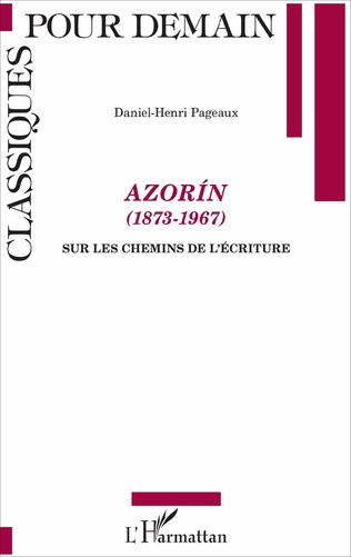 Couverture Azorín (1873-1967)
