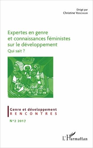 Couverture Expertes en genre et connaissances féministes sur le développement