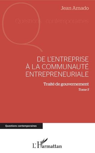 Couverture De l'entreprise à la communauté entrepreneuriale