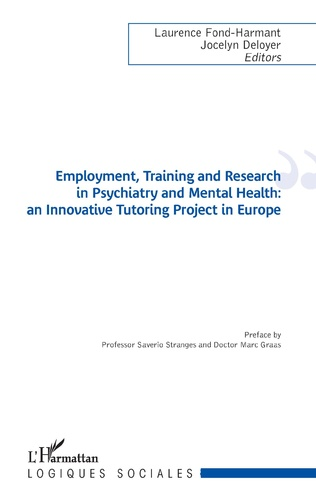 Couverture Employment, Training and Research in Psychiatry and Mental Health