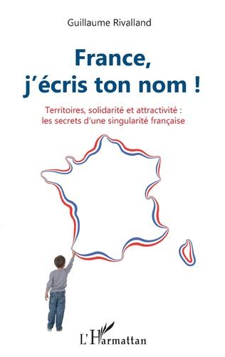 Couverture France, j'écris ton nom !