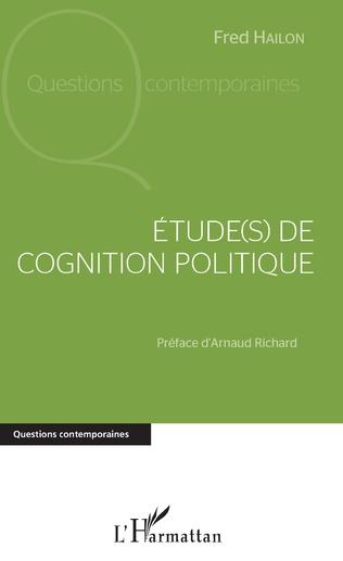 Couverture Étude(s) de cognition politique
