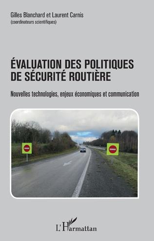 Couverture Évaluation des politiques de sécurité routière