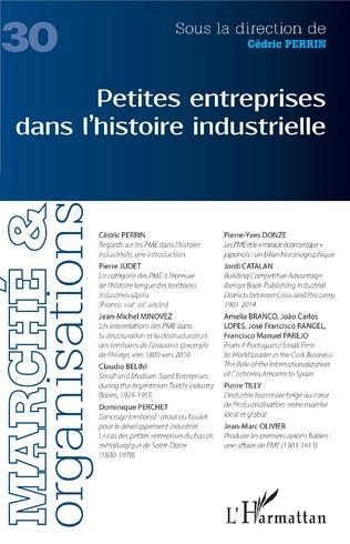 Couverture Petites entreprises dans l'histoire industrielle