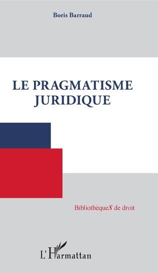 Couverture Le pragmatisme juridique