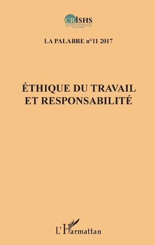 Couverture Ethique du travail et responsabilité