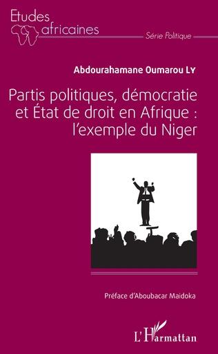 Couverture Partis politiques, démocratie et État de droit en Afrique :