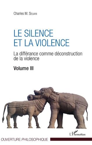Couverture Le silence et la violence