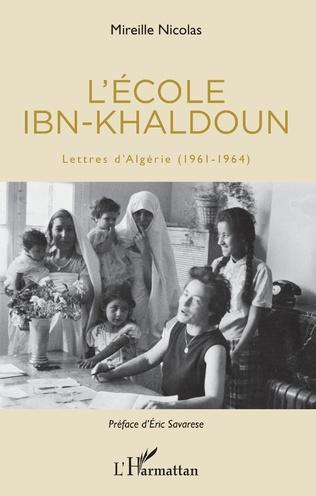 Couverture L'école Ibn-Khaldoun