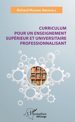 Couverture Curriculum pour un enseignement supérieur et universitaire professionnalisant