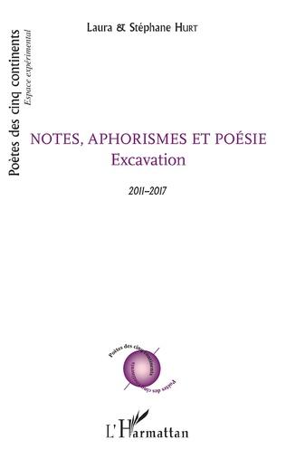 Couverture Notes, aphorismes et poésie