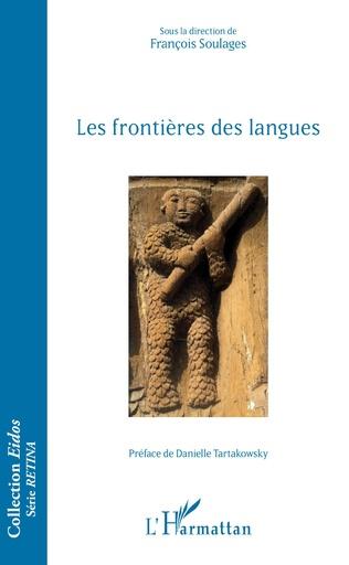 Couverture Les frontières des langues