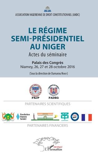 Couverture Le régime semi-présidentiel au Niger