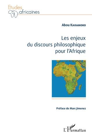 Couverture Les enjeux du discours philosophique pour l'Afrique