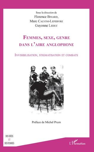 Couverture Femmes, sexe, genre dans l'aire anglophone