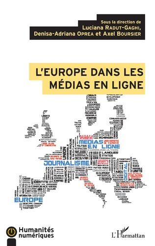 Couverture L'Europe dans les médias en ligne