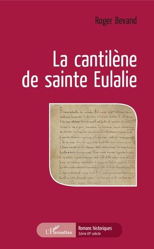 Couverture La cantilène de sainte Eulalie